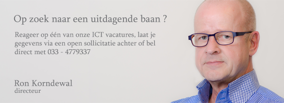 Vacatures ICT Korndewal IT-workX
